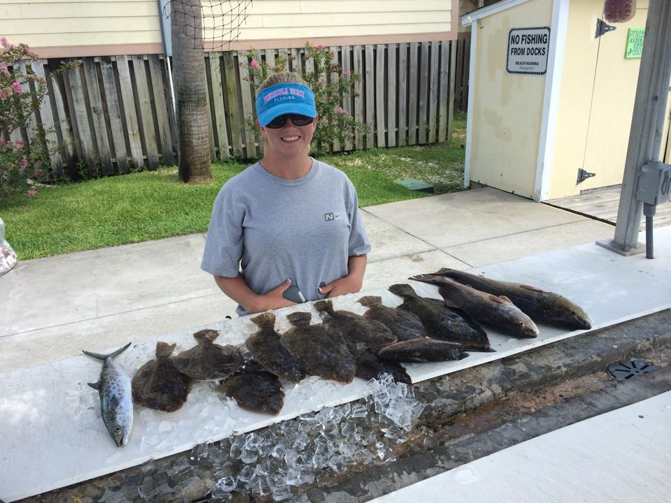 Hot Spots Report for Pensacola Fishing Charters November 2014