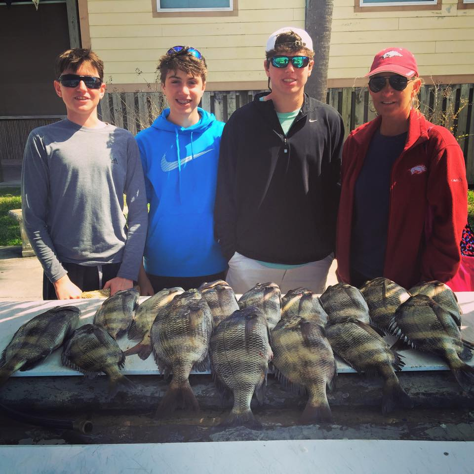 Hot Spots Report for Pensacola Fishing Charters February 2015