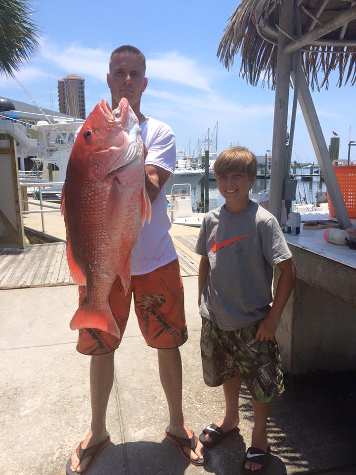 Hot Spots Report for Pensacola Fishing Charters June 2015