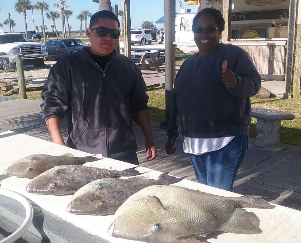 Hot Spots Report for Pensacola Fishing Charters February 2016