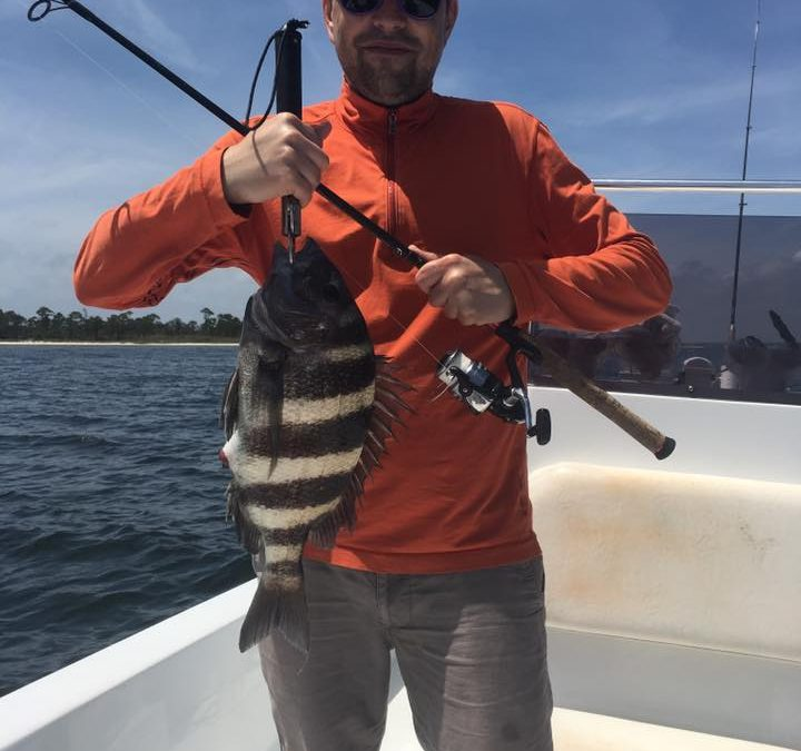 Hot Spots Report for Pensacola Fishing Charters February 2018