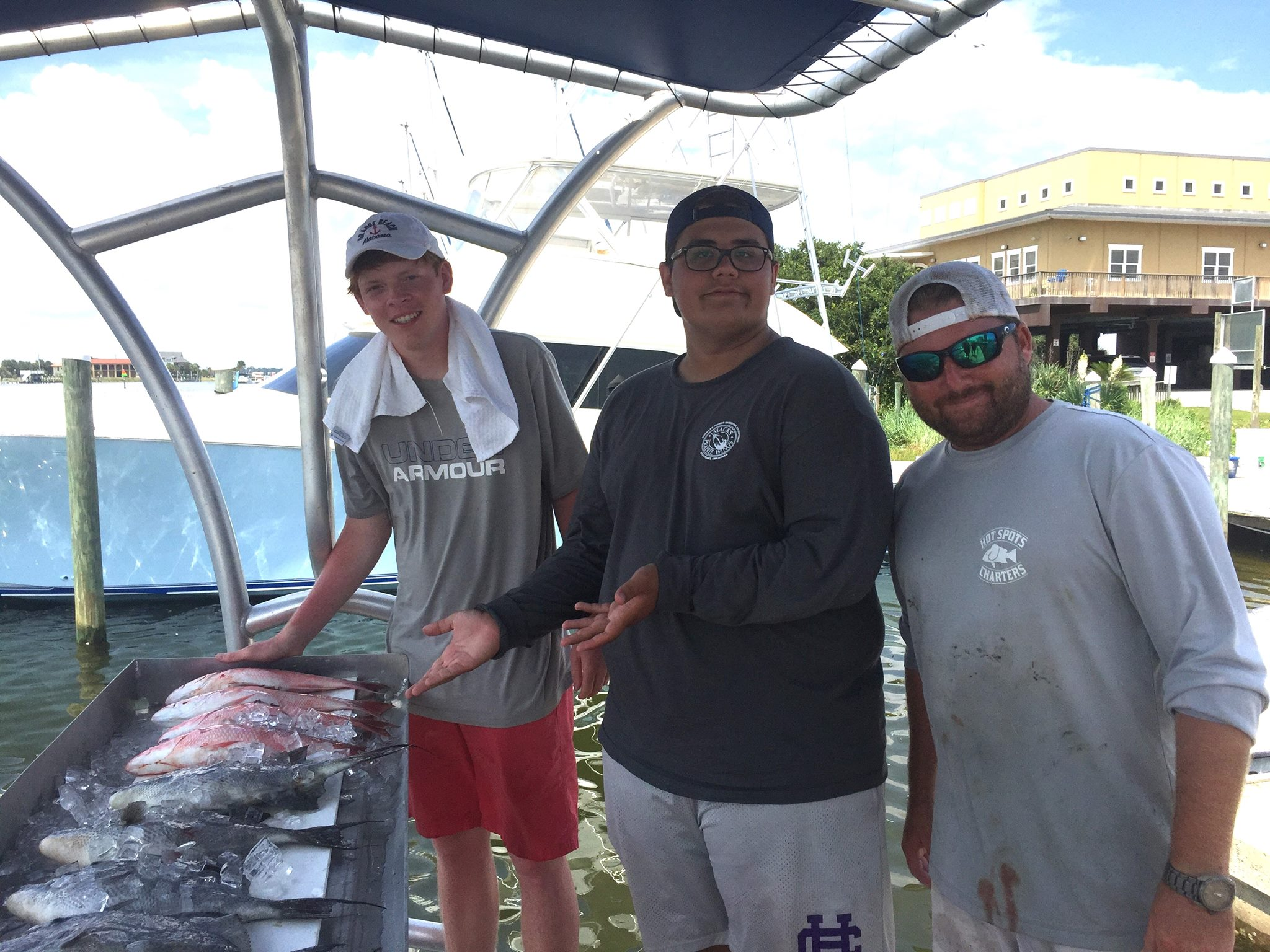 Hot Spots Report for Pensacola Fishing Charters September 2017