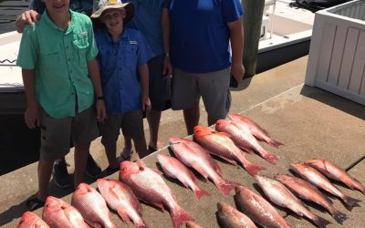 Hot Spots Report for Pensacola Fishing Charters June 2017
